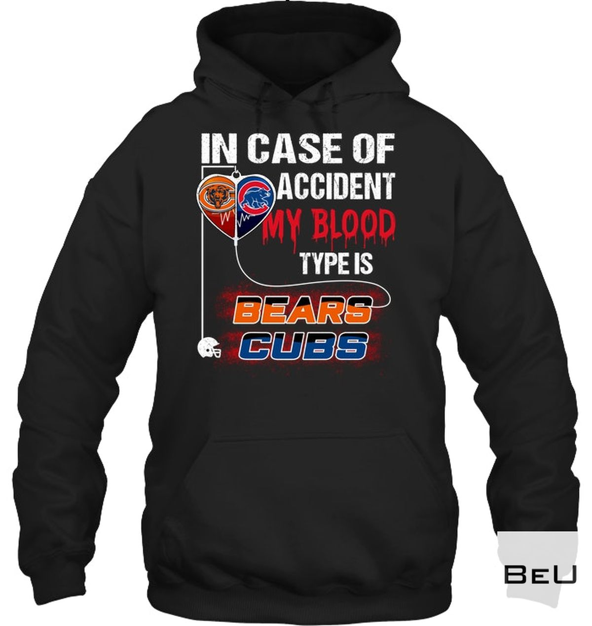 Great artwork! In Case Of Accident My Blood Type Is Beers Clubs Shirt, hoodie, tank top