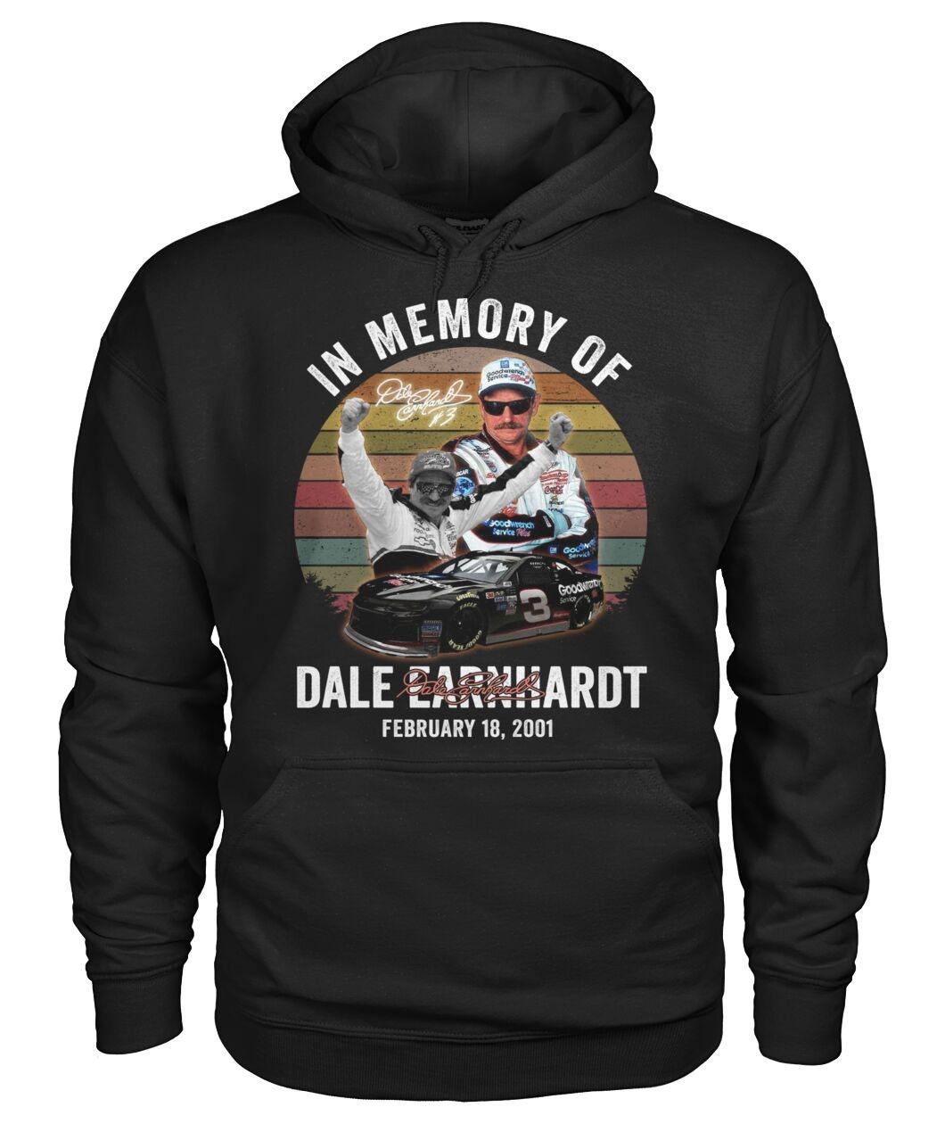 In Memory Of Dale Earnhardt February 18 2001 Hoodie