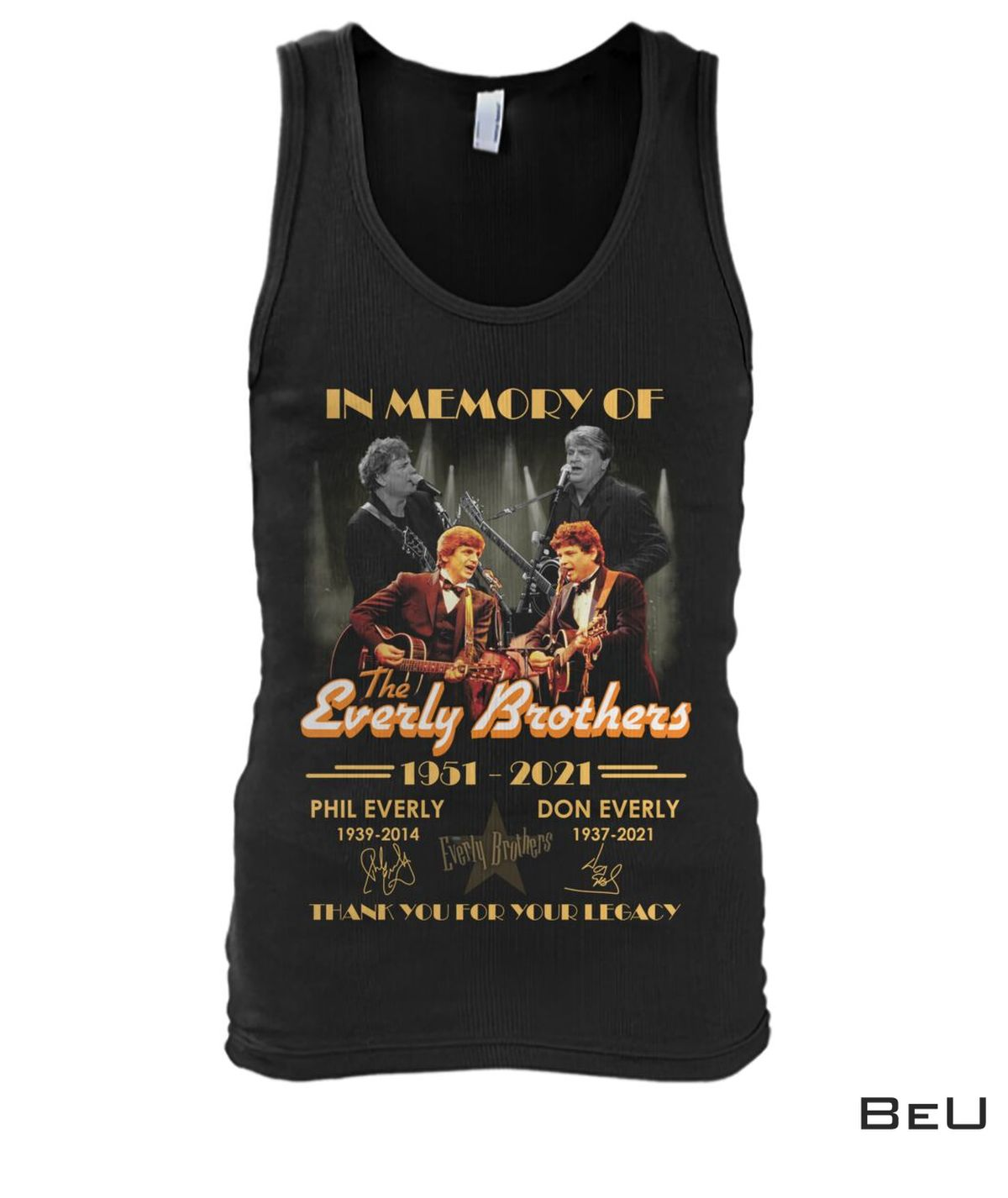In Memory Of The Everly Brother Shirt x