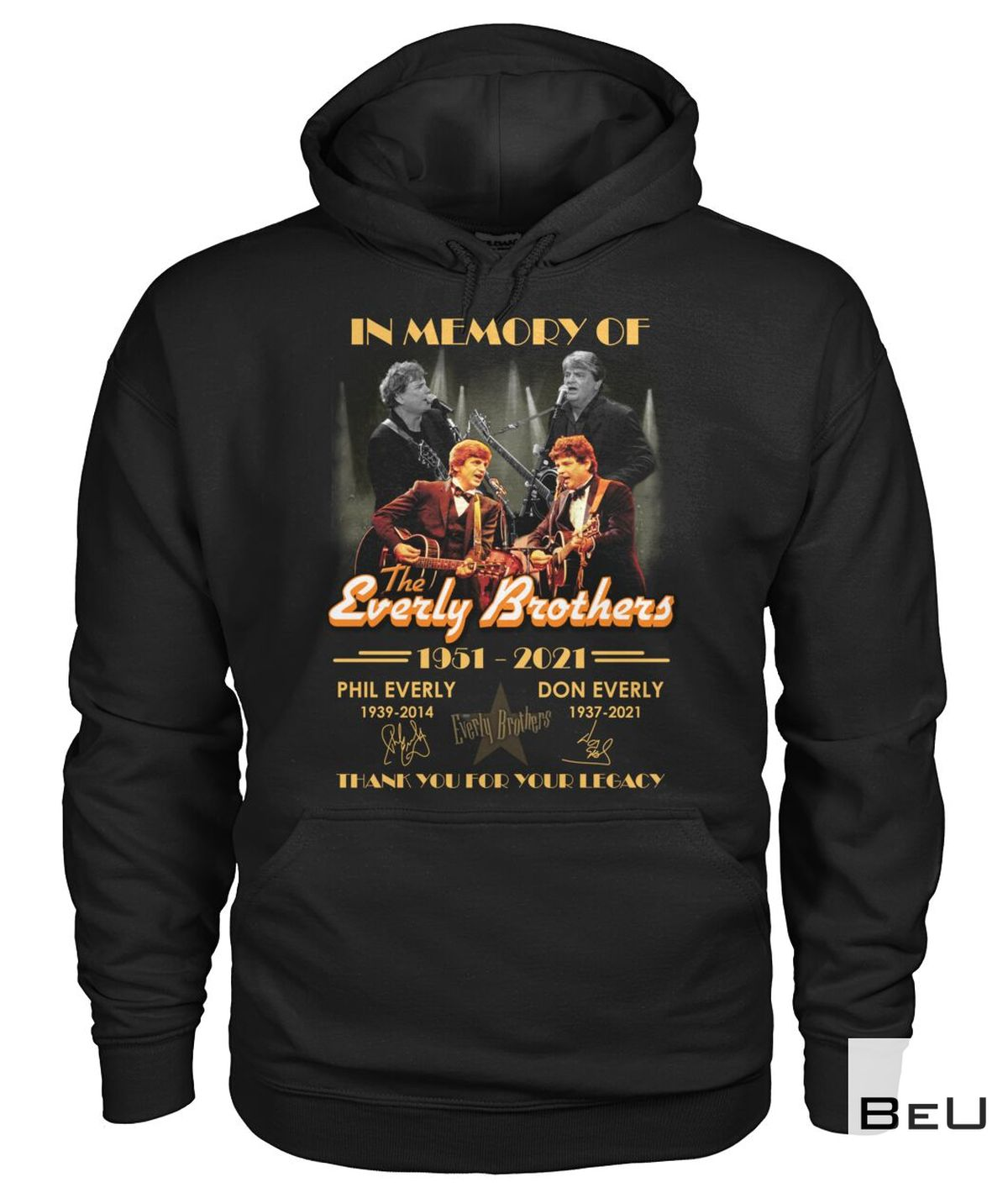 In Memory Of The Everly Brother Shirt z