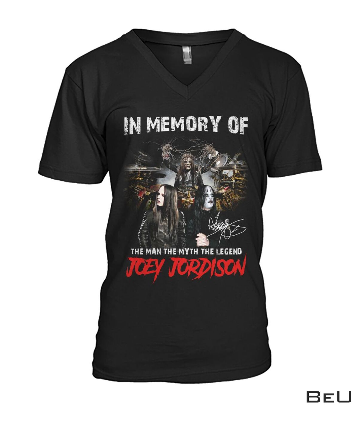 Awesome In Memory Of The Man The Myth The Legend Joey Jordison Shirt, hoodie, tank top