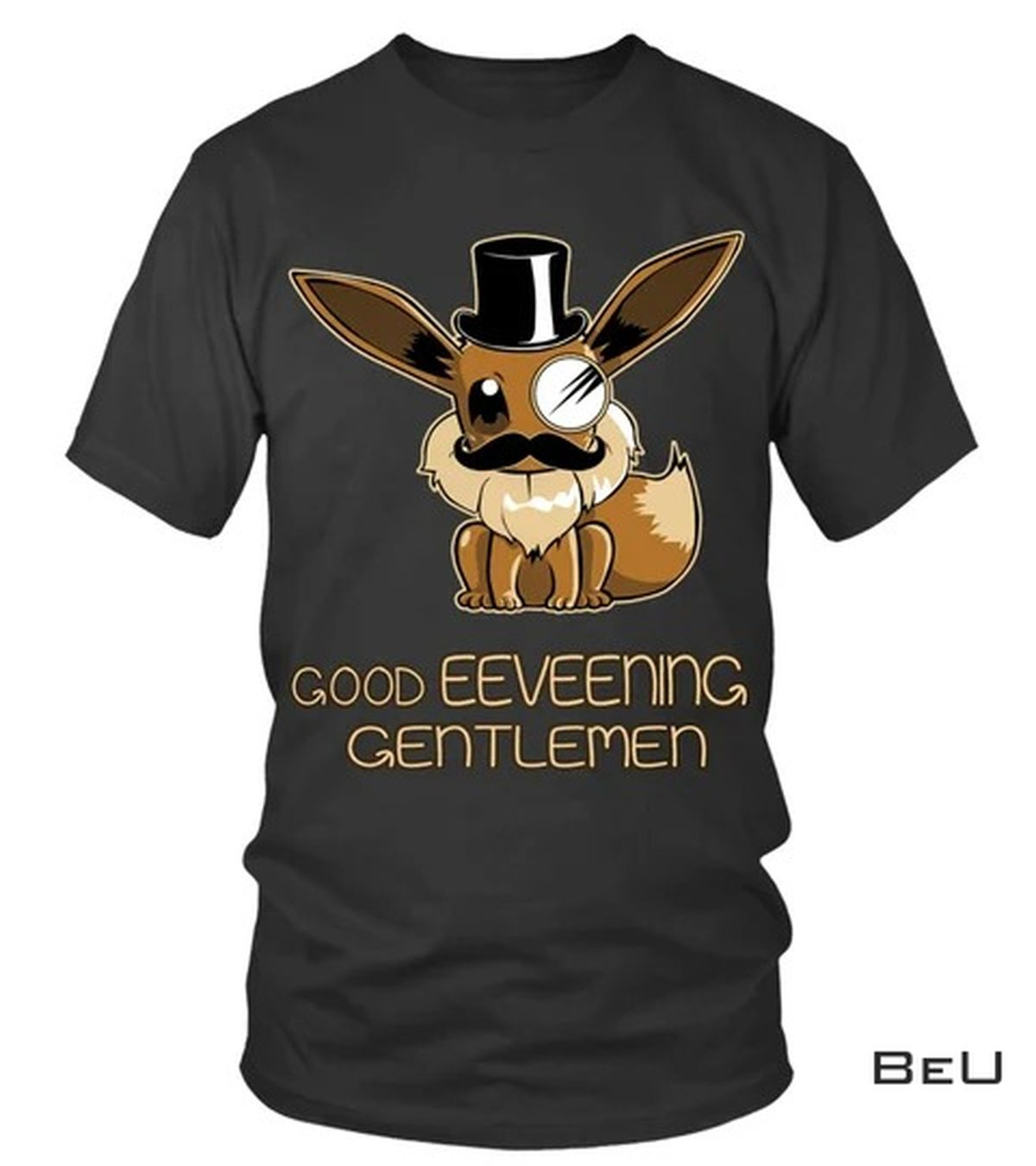 Pokemon Eevee Good Eeveening Gentlemen Shirt