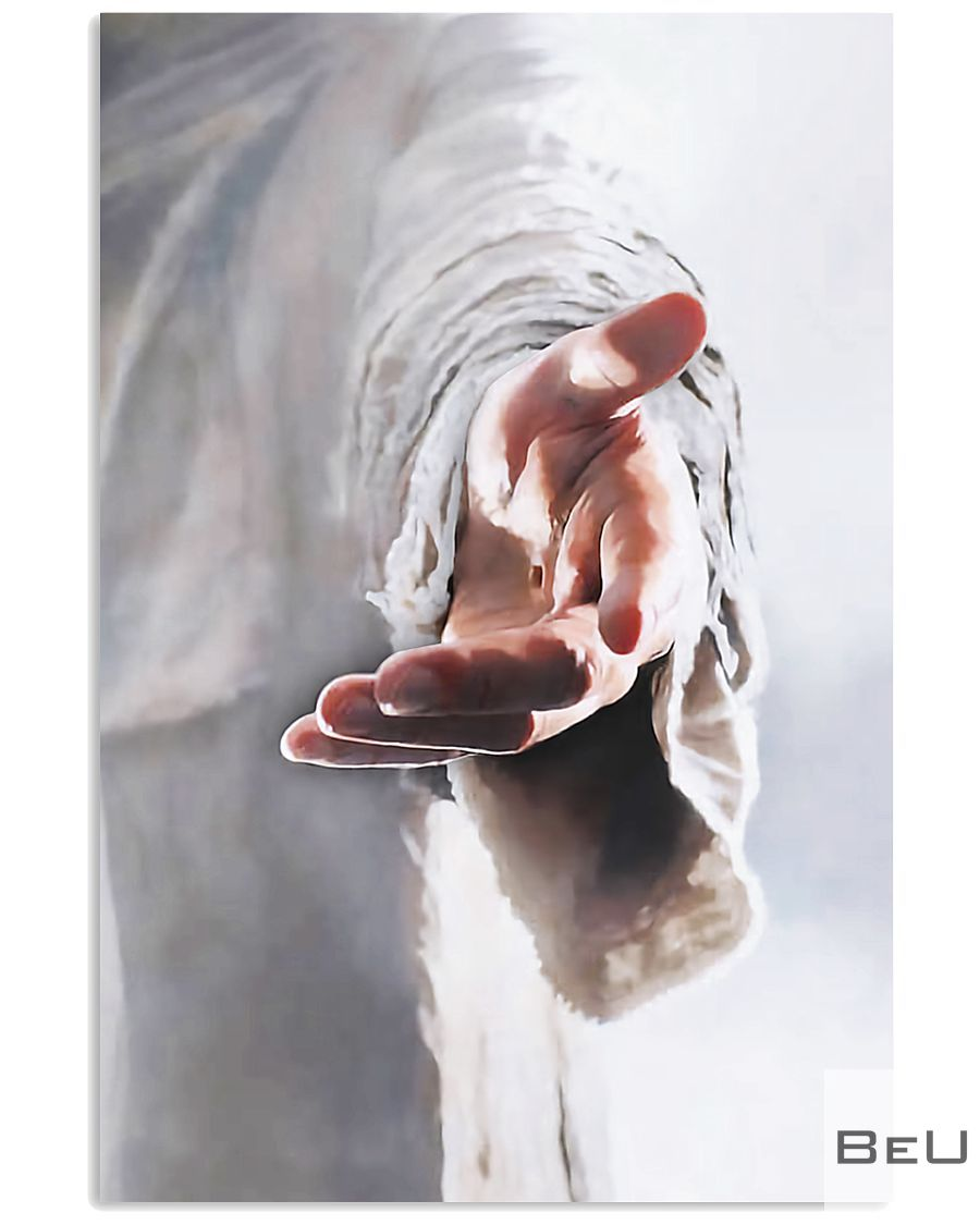 Jesus Christ Give me your hand poster_result