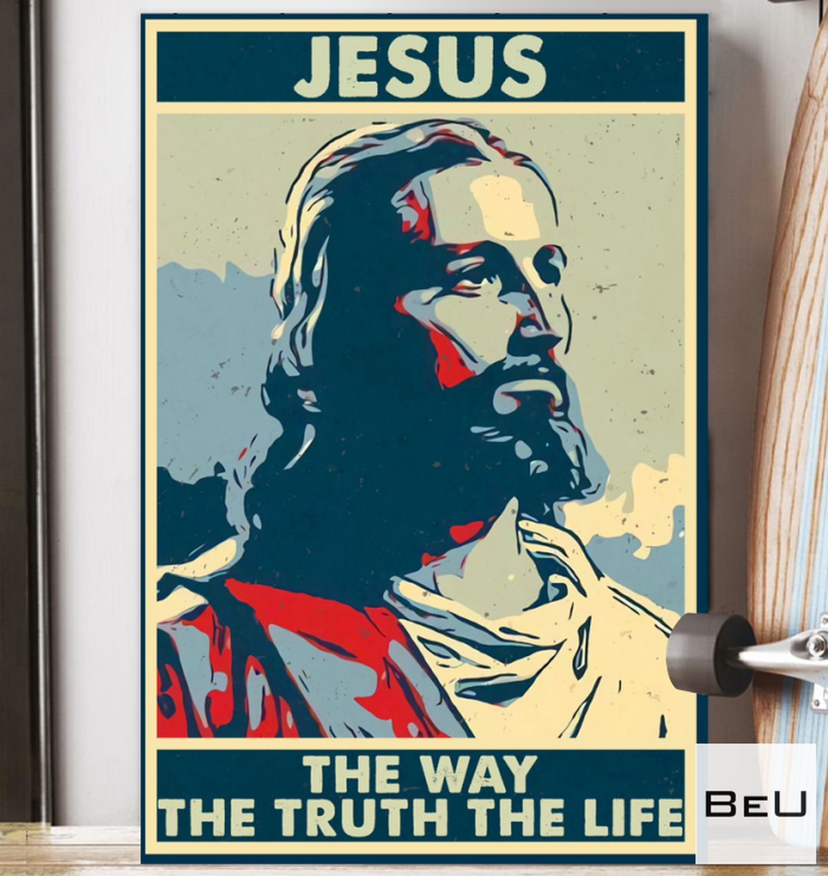 Rating Jesus Is The Way The Truth The Life Poster