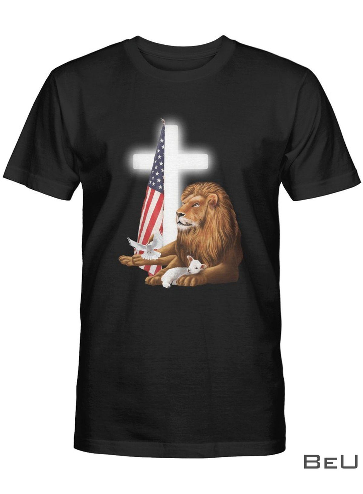 Jesus Lion Lamb Shirt