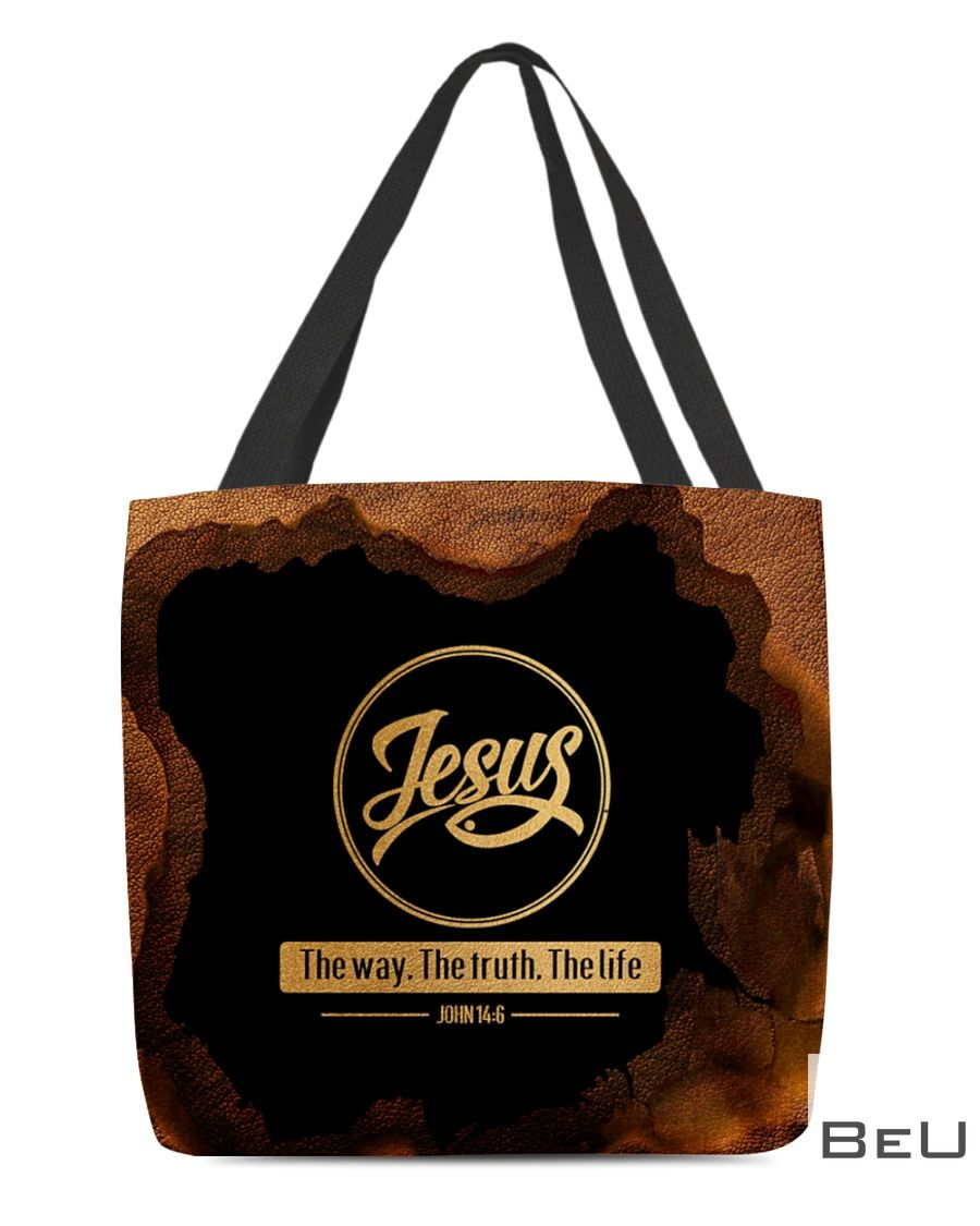 Jesus The Way - The Truth - The Life All tote bag