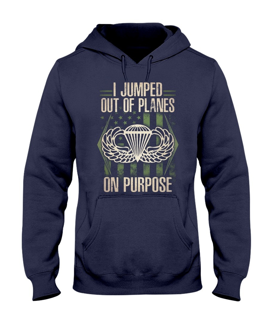 Jump Out Of Planes On Purpose Hoodie