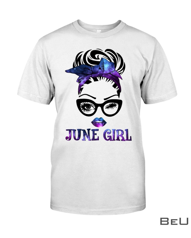 June Girl Galaxy Shirt