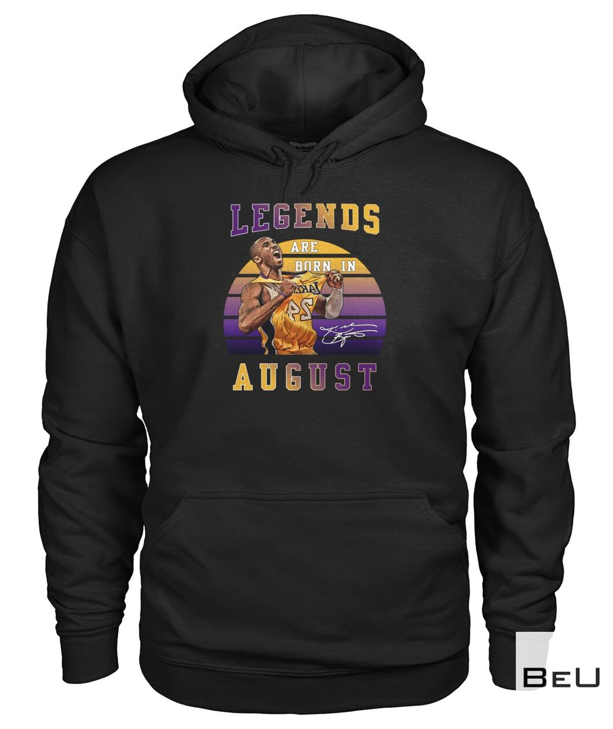 Legends Are Born In August Kobe Bryant 24 Shirtx