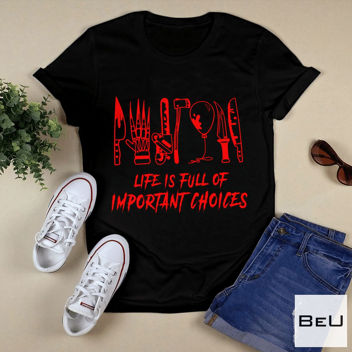 Life Is Full Of Important Choices Halloween Shirt, hoodie, tank top
