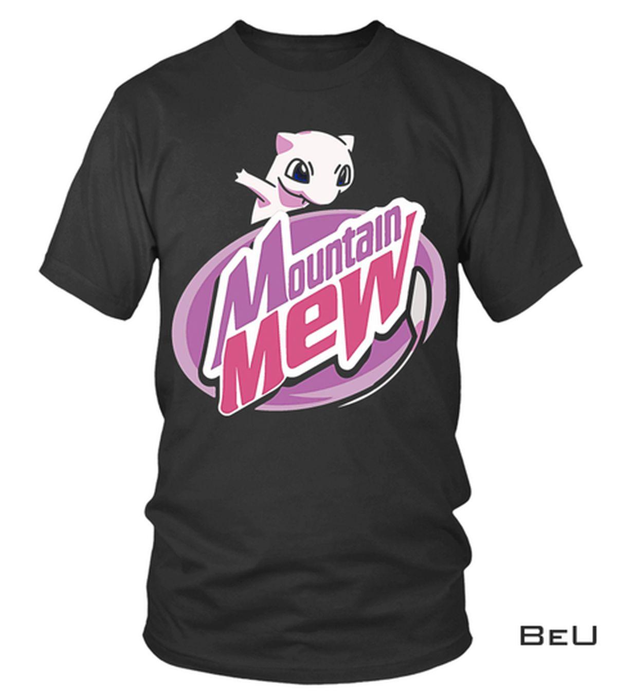 Drop Shipping Mountain Mew Pokemon Shirt, hoodie, tank top