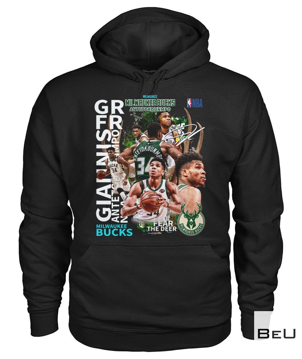 Funny Tee NBA Giannis Milwaukee Bucks Shirt, hoodie, tank top