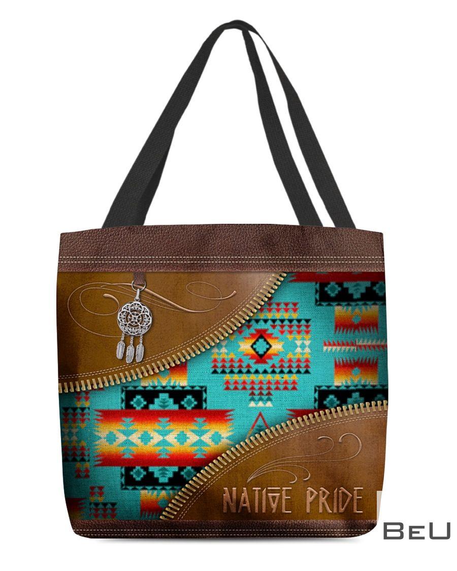 Native Pride Pattern Tote Bag