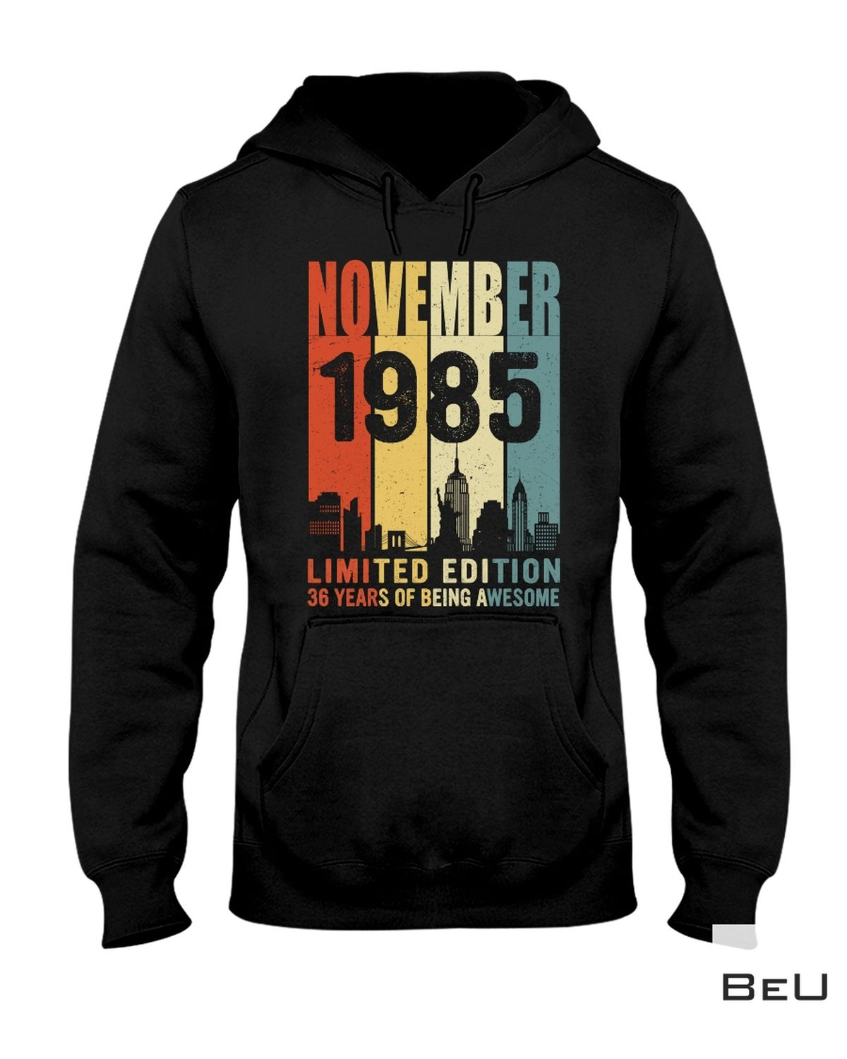 Father's Day Gift November 1985 Limited Edition 36 Years Of Being Awesome Shirt, hoodie, tank top
