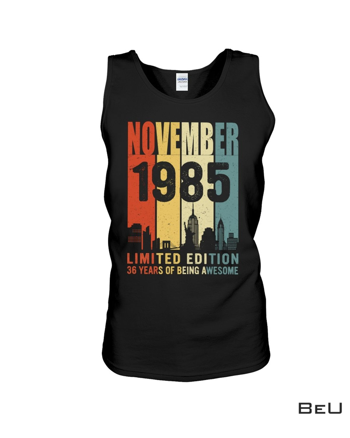 Vibrant November 1985 Limited Edition 36 Years Of Being Awesome Shirt, hoodie, tank top
