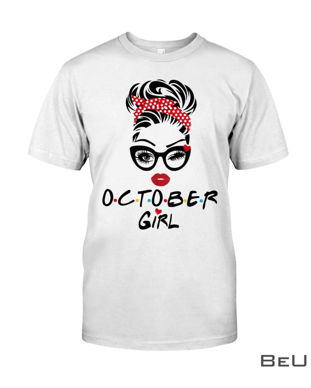 October Girl Wink Eye Shirt
