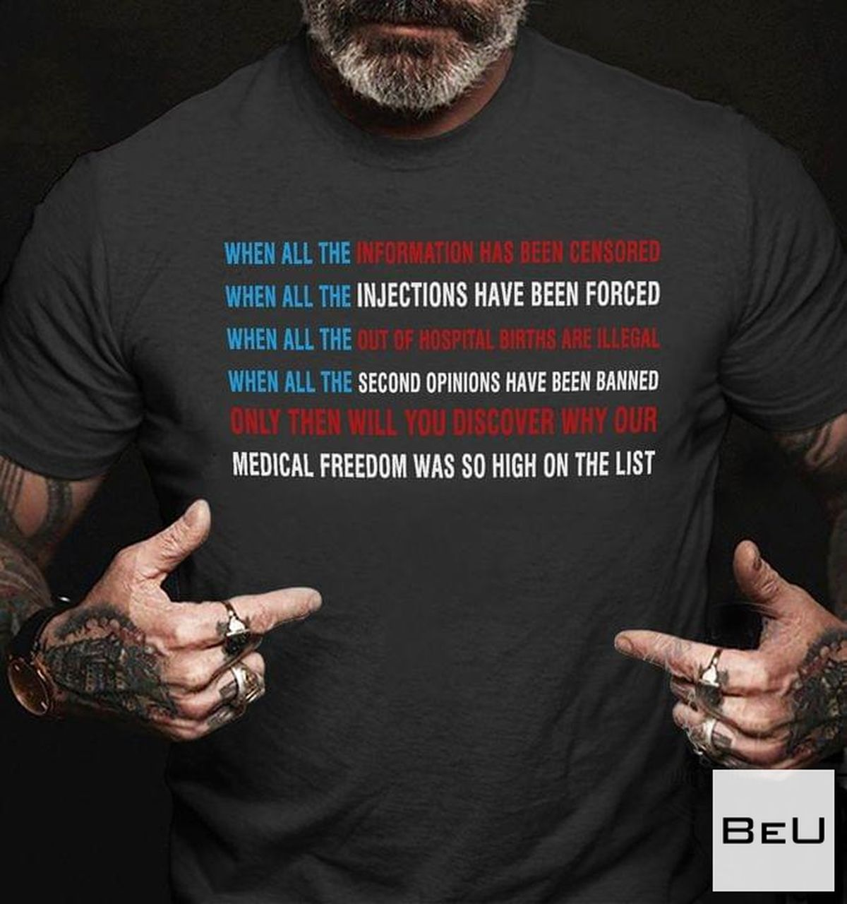 Only Then Will You Discover Why Our Medical Freedom Was So High On The List Shirt, hoodie, tank top