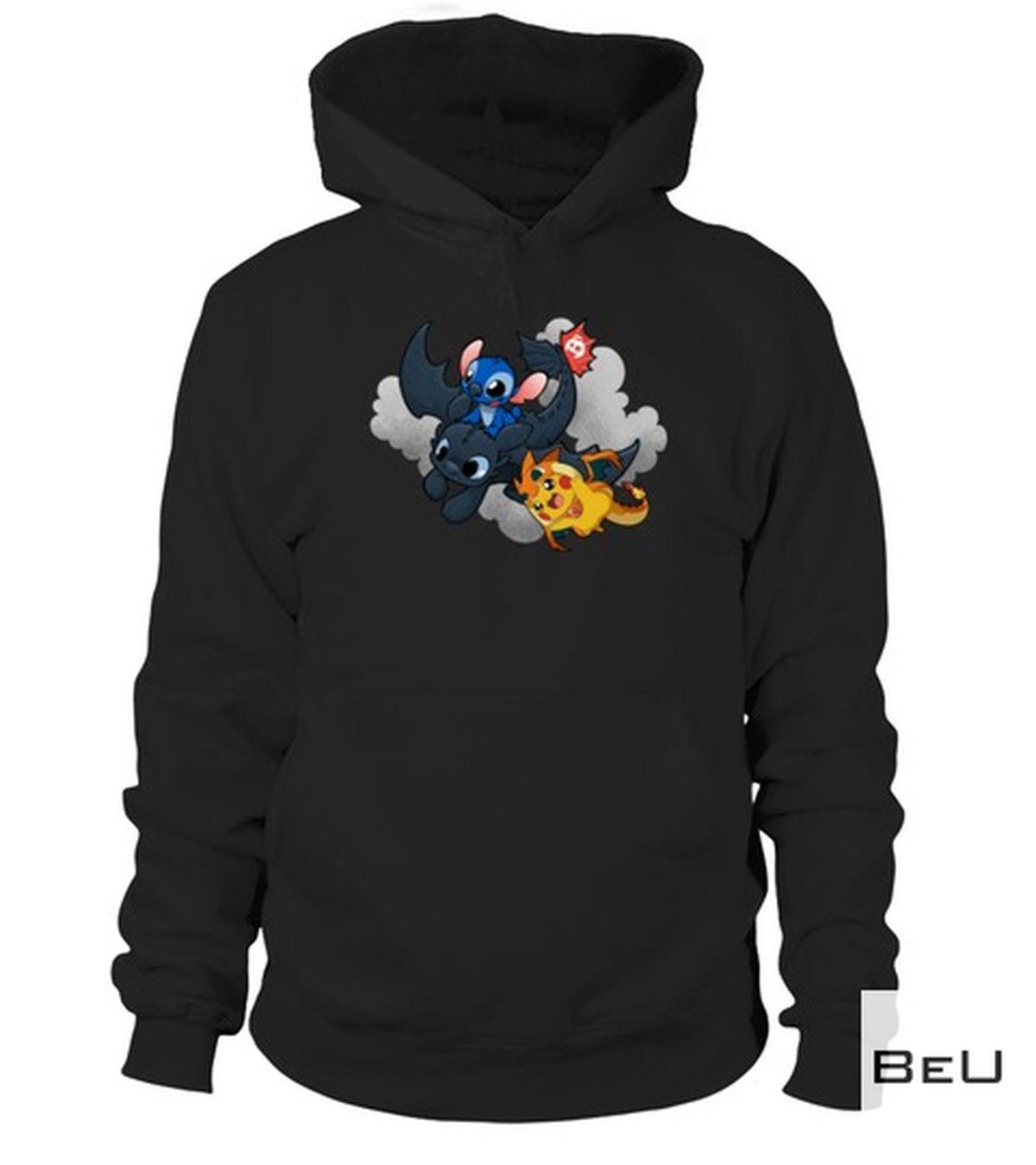 Vibrant Pikachu Stick Fury Night Flying Shirt, hoodie, tank top