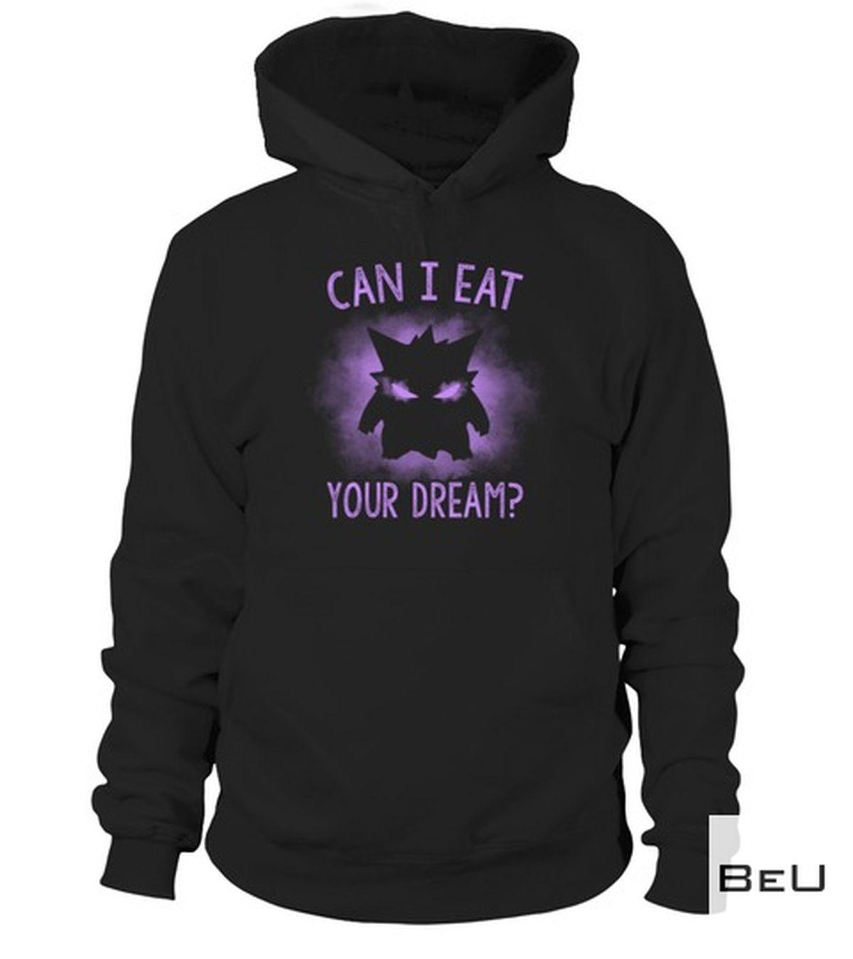 Present Pokemon Gengar Can I Eat Your Dream Shirt, hoodie, tank top