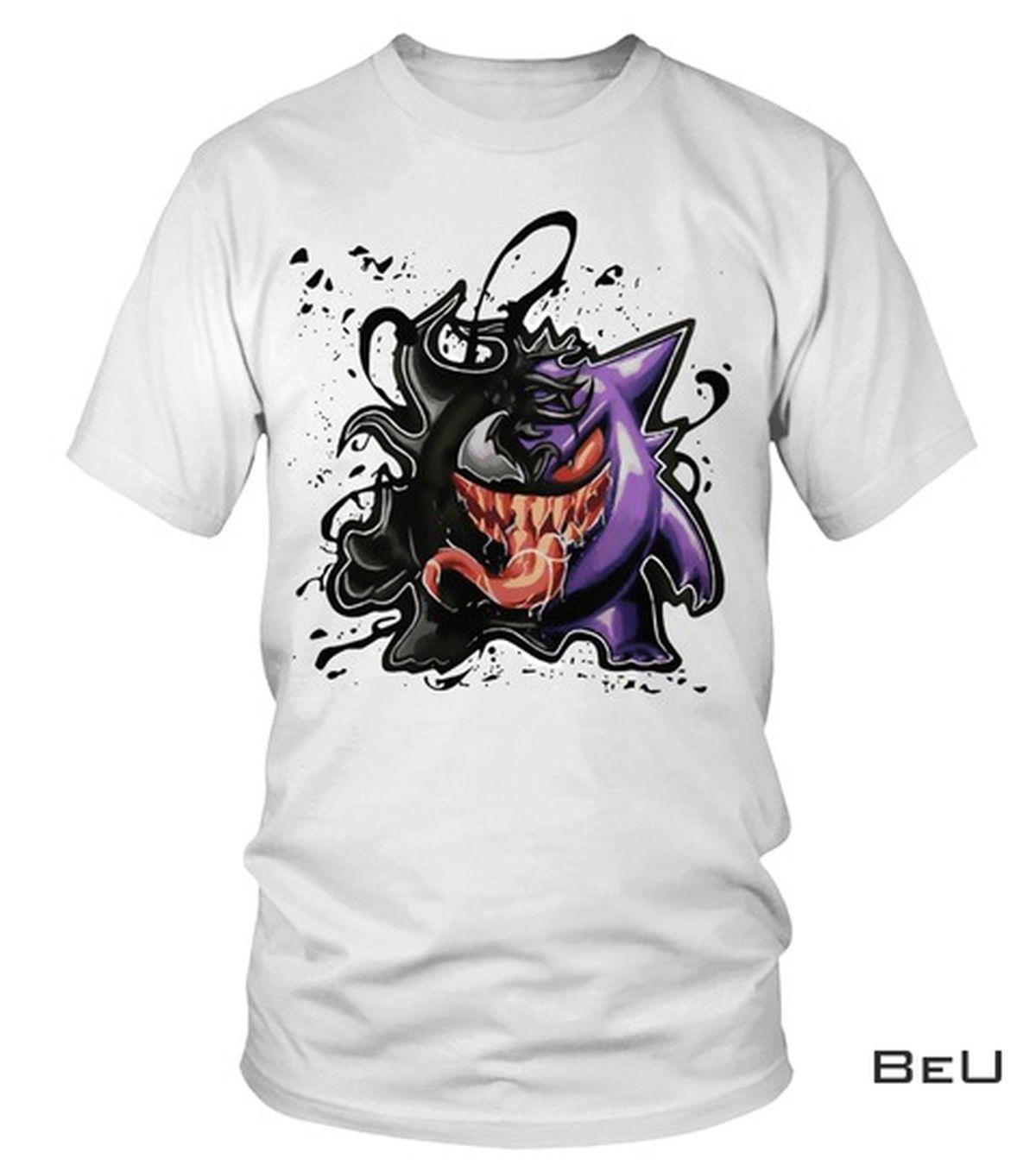 US Shop Pokemon Gengar Venom Shirt, hoodie, tank top