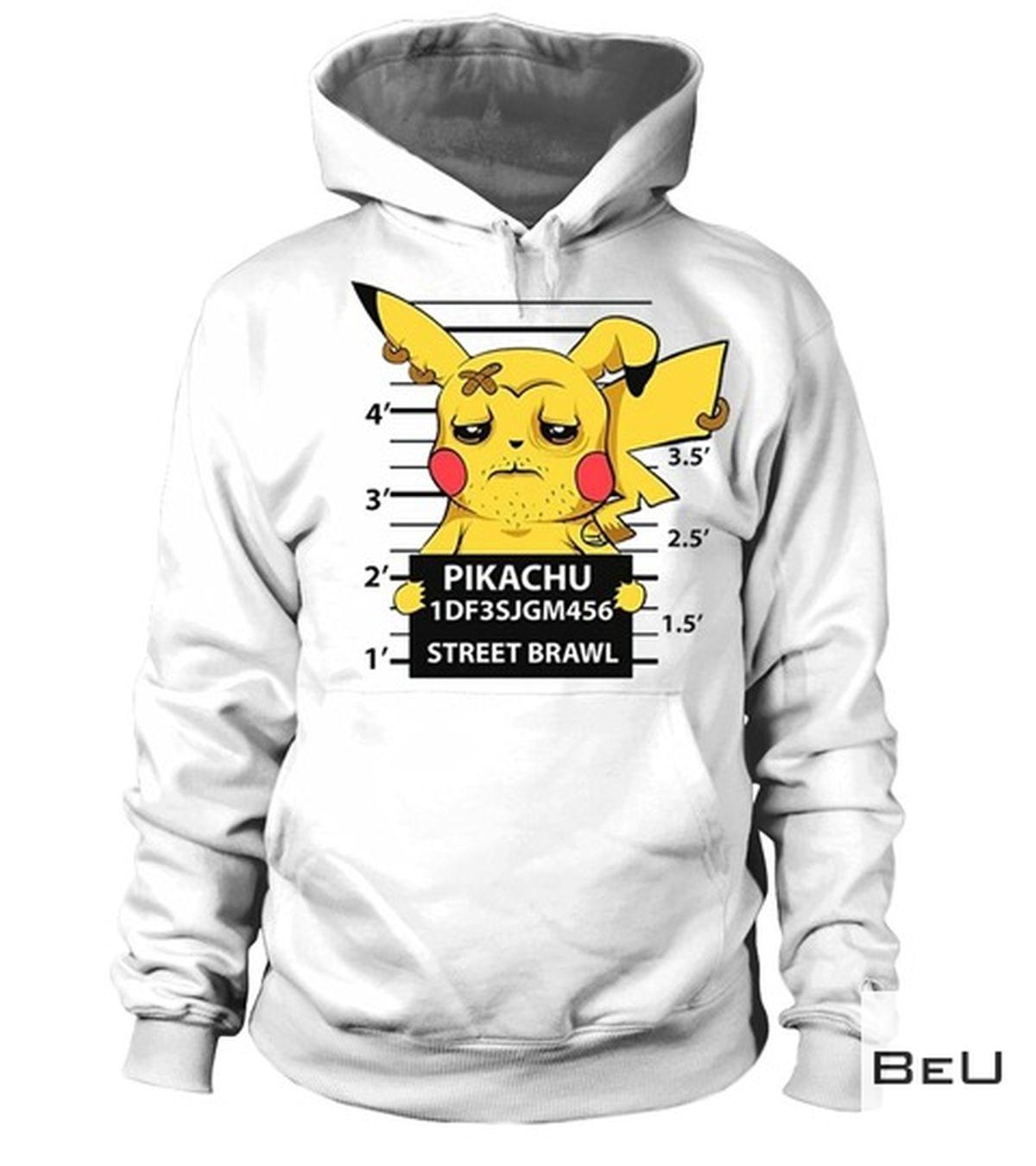 Very Good Quality Pokemon Pikachu Criminal Picture Shirt, hoodie, tank top