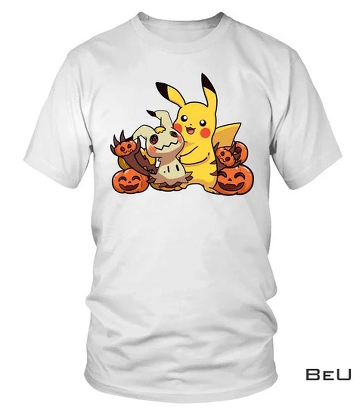 Absolutely Love Pokemon Pikachu Pumpkin Halloween Shirt, hoodie, tank top
