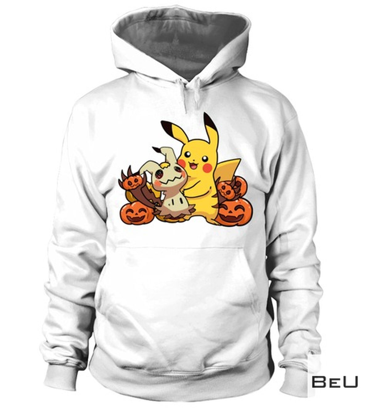 Clothing Pokemon Pikachu Pumpkin Halloween Shirt, hoodie, tank top