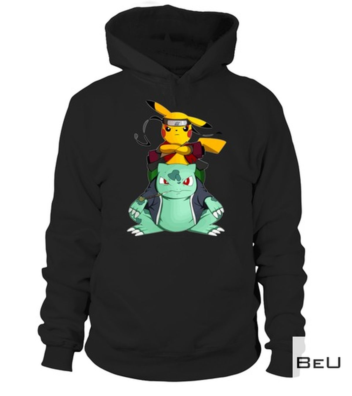 POD Pokemon Pikachu Sasuke Shirt, hoodie, tank top