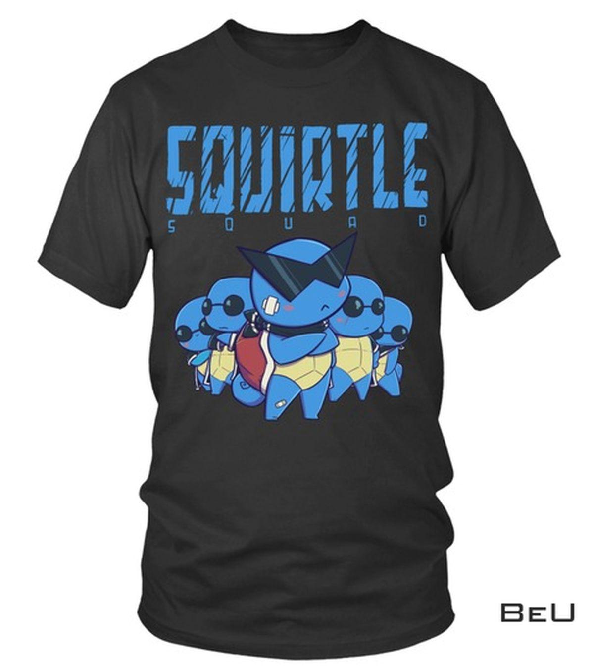 Pokemon Squirtle Squad Shirt