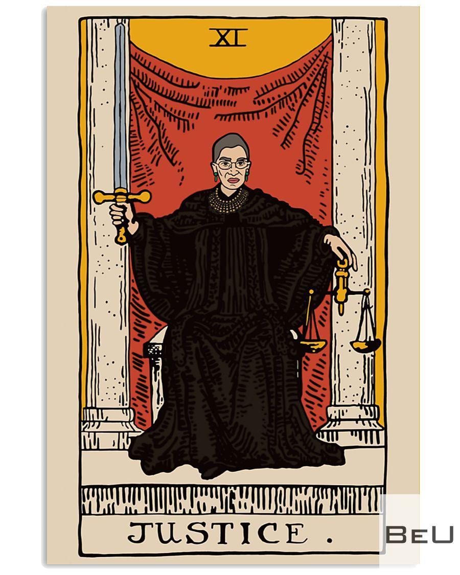 RBG Ruth Bader Ginsburg Justice Poster