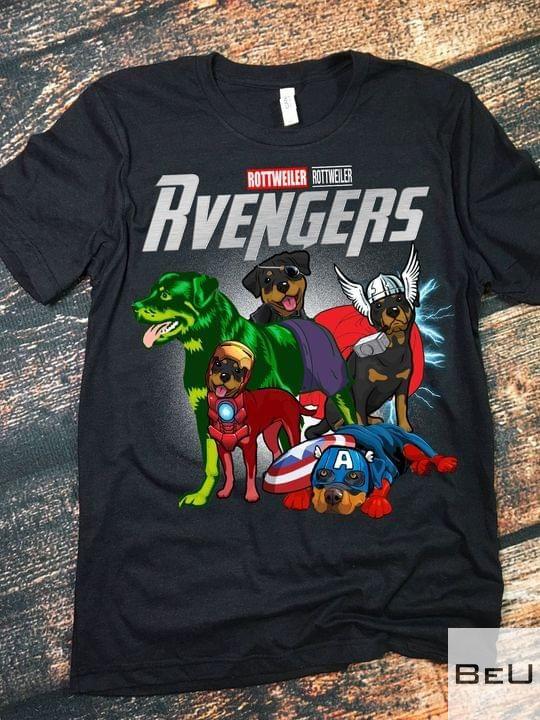 Rottweiler avengers shirt5