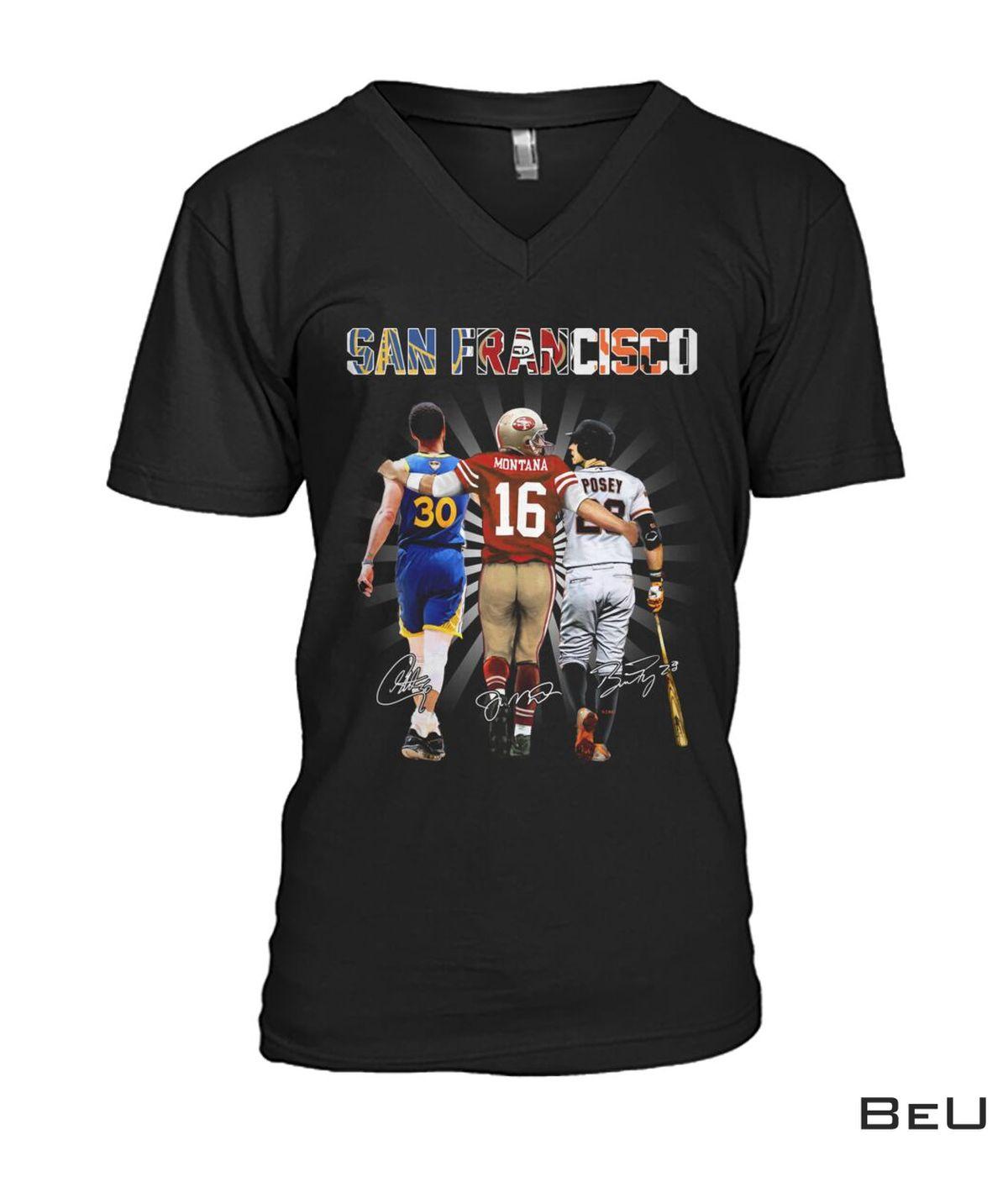 San Francisco Montana Shirt x