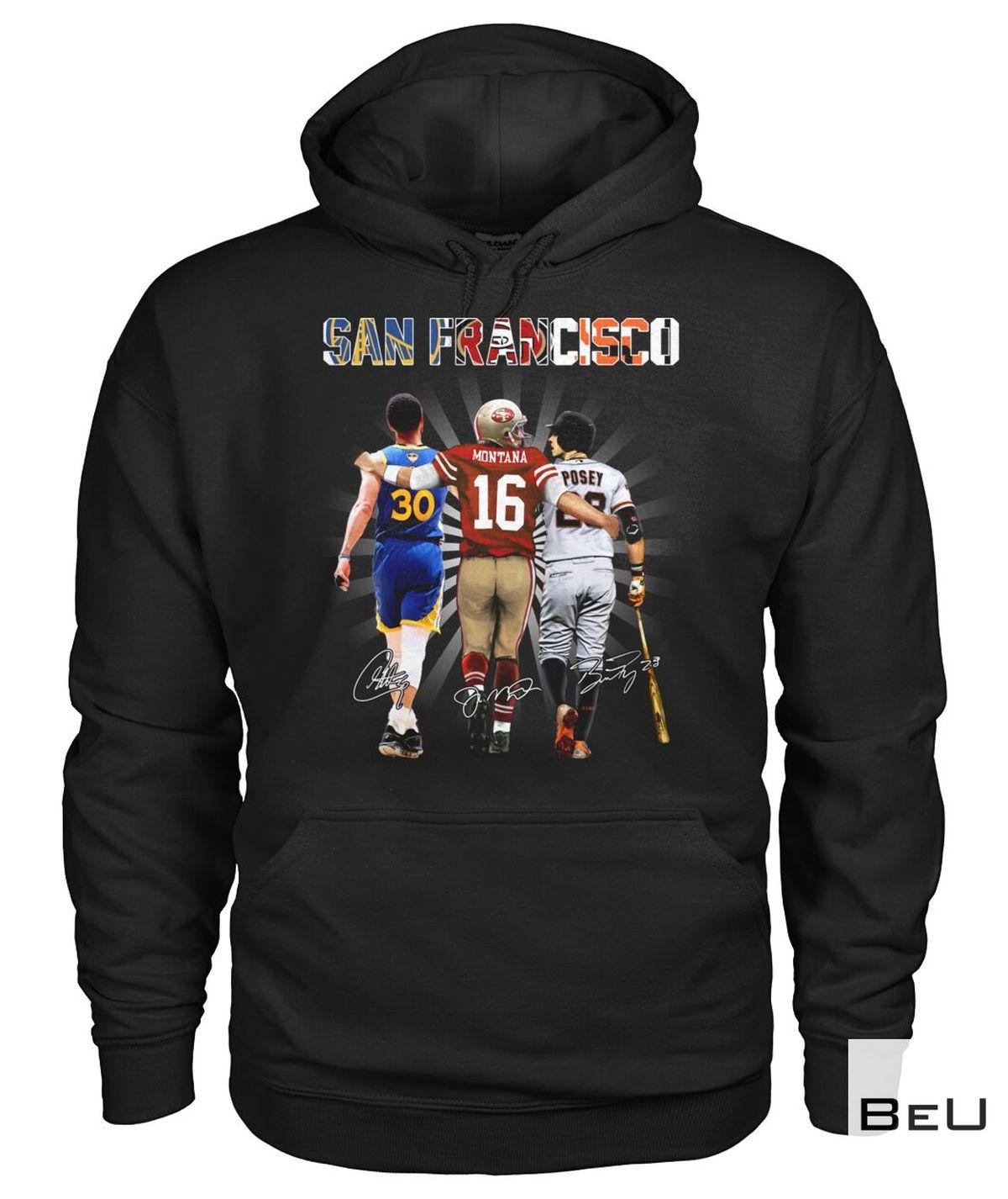 San Francisco Montana Shirt z