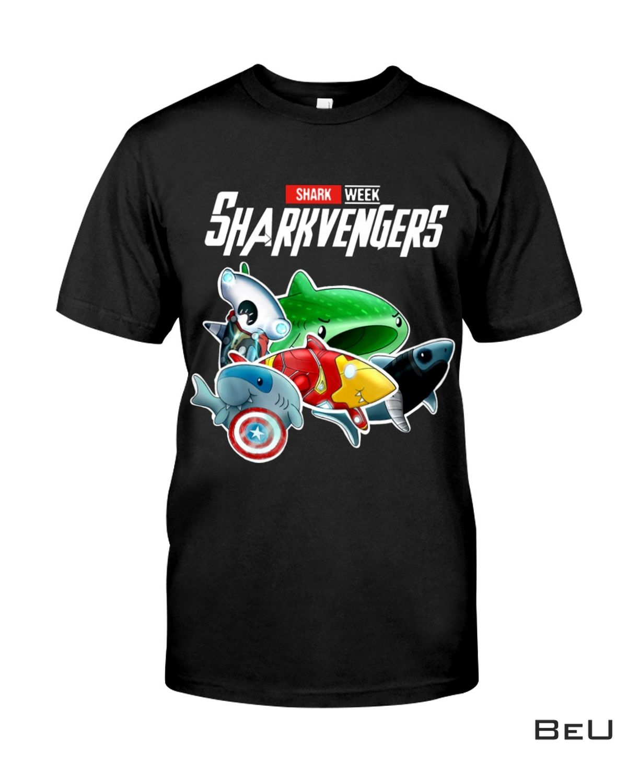 New Shark Week Shark Avengers Shirt