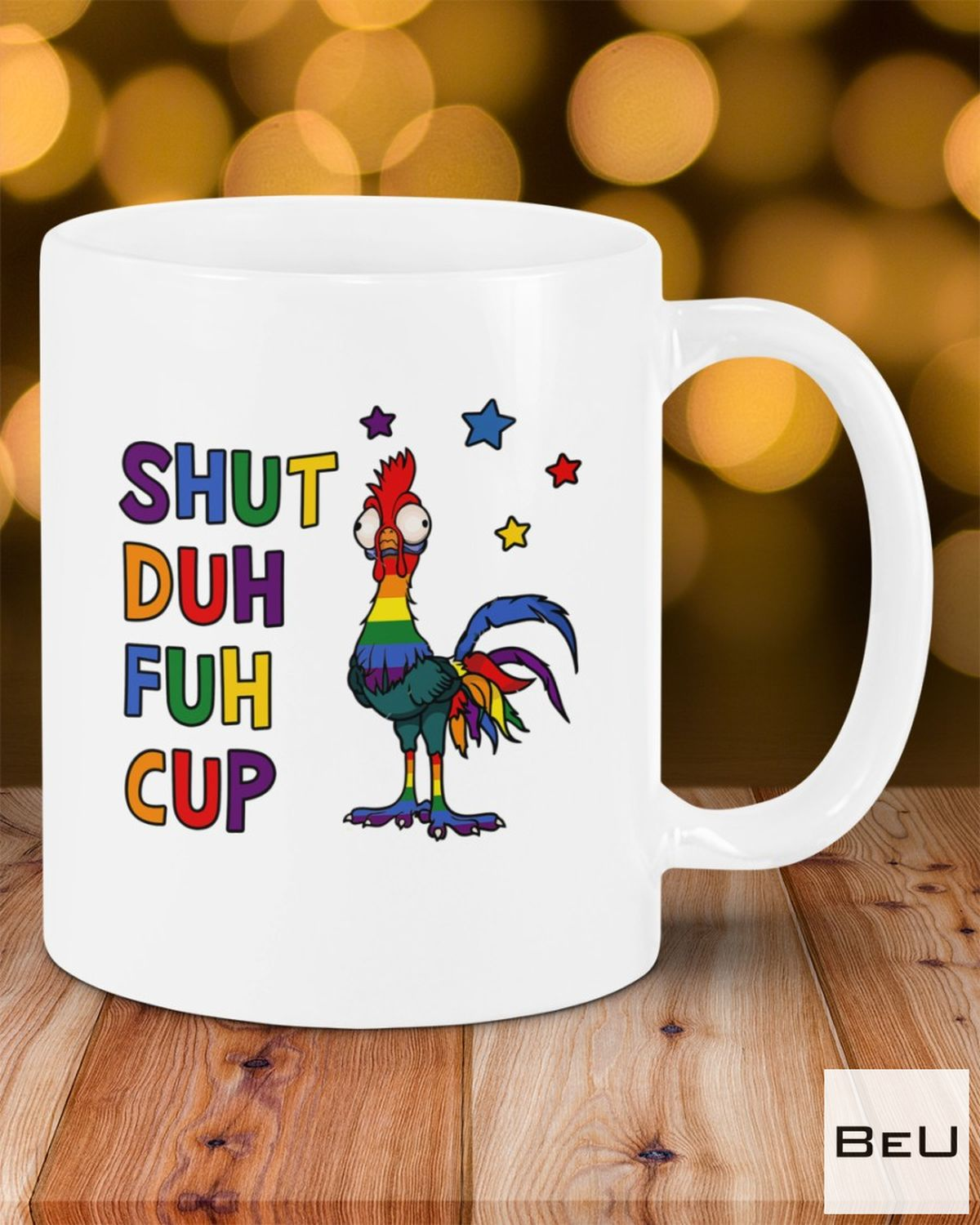 Best Shuh Duh Fuh Cup Rooster Mugs