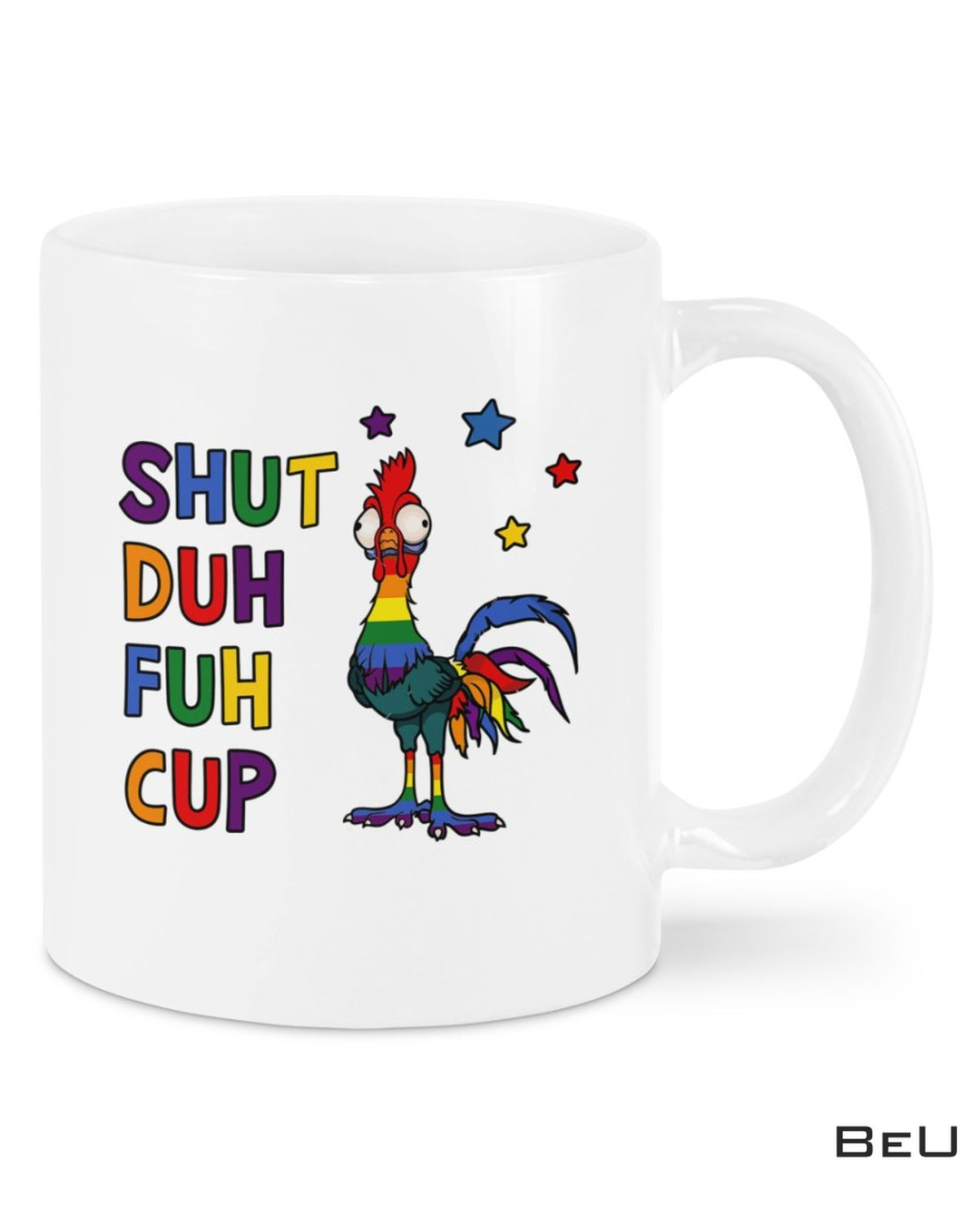 Great Shuh Duh Fuh Cup Rooster Mugs