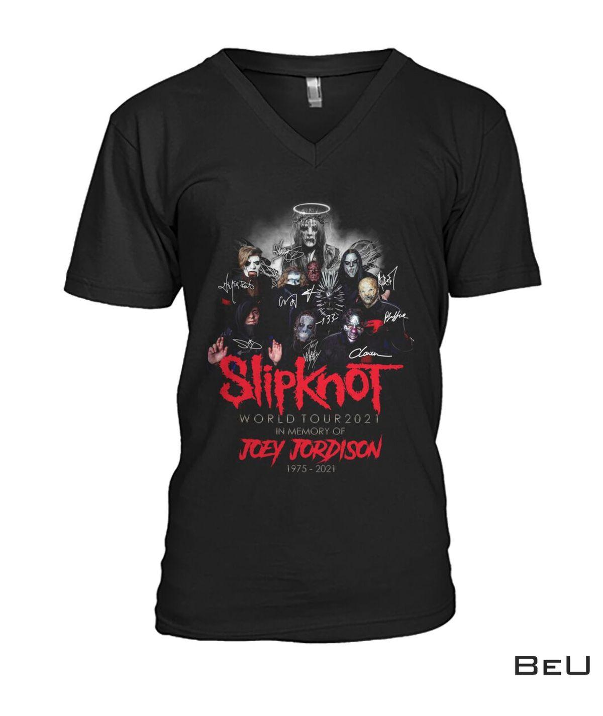 Great Quality Slipknot Joey Jordison World Tour 2021 Shirt, hoodie, tank top