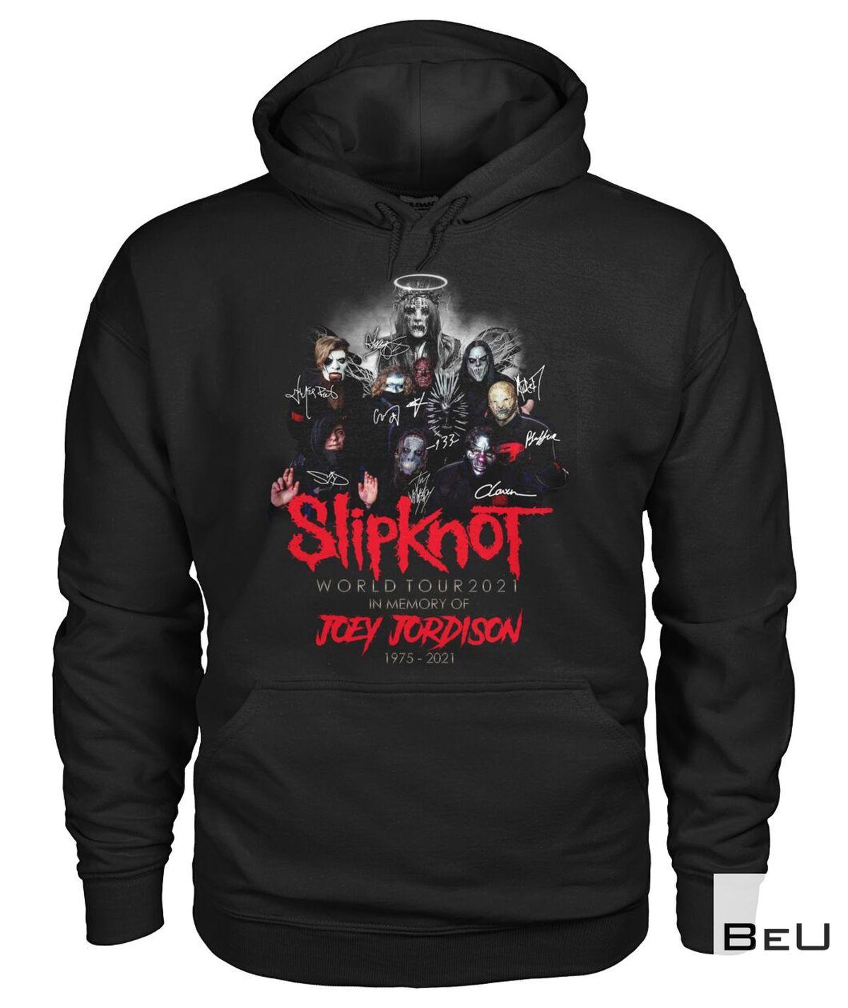 Only For Fan Slipknot Joey Jordison World Tour 2021 Shirt, hoodie, tank top