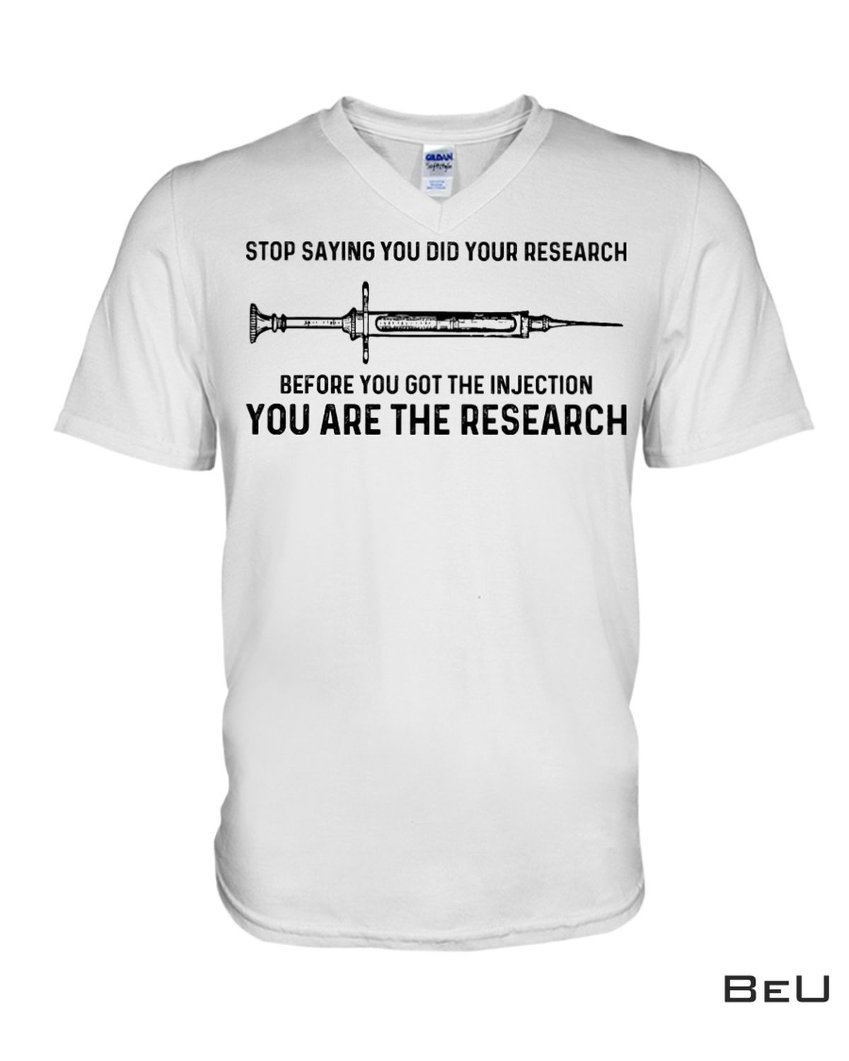 Amazon Stop Saying You Did Your Research Shirt, hoodie, tank top