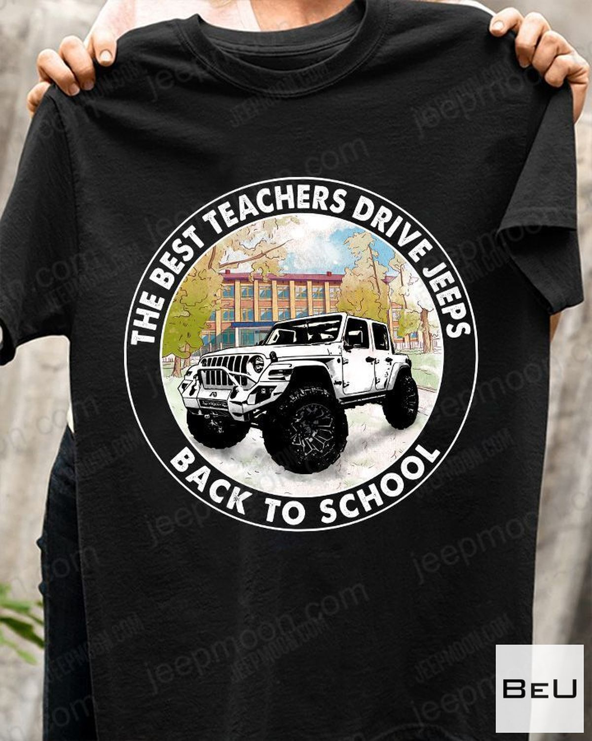 Mother's Day Gift The Best Teachers Drive Jeep Back To School Shirt, hoodie, tank top