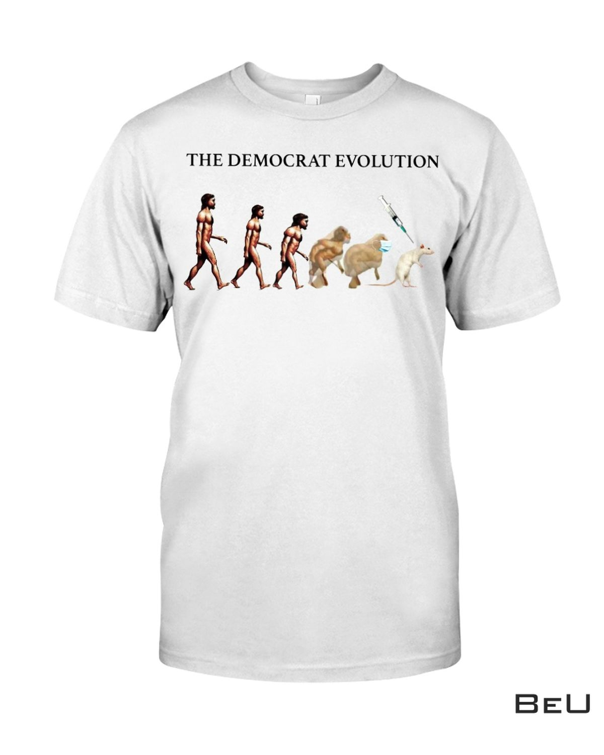 Great The Democrat Evolution Mouse Lab Shirt, hoodie, tank top