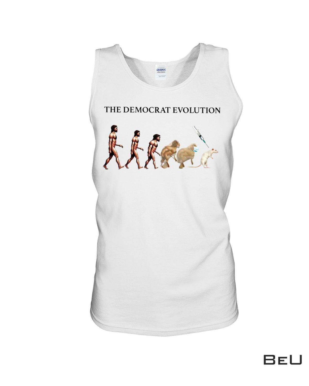 The Democrat Evolution Mouse Lab Shirtc