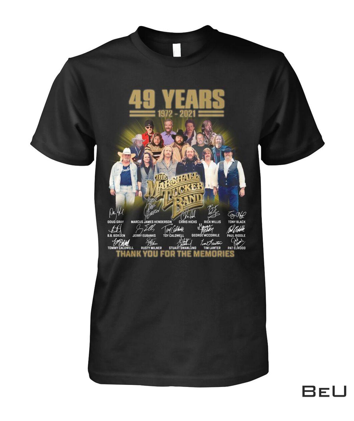 The Marshall Tucker Band 49 Years Anniversary Shirt, hoodie, tank top