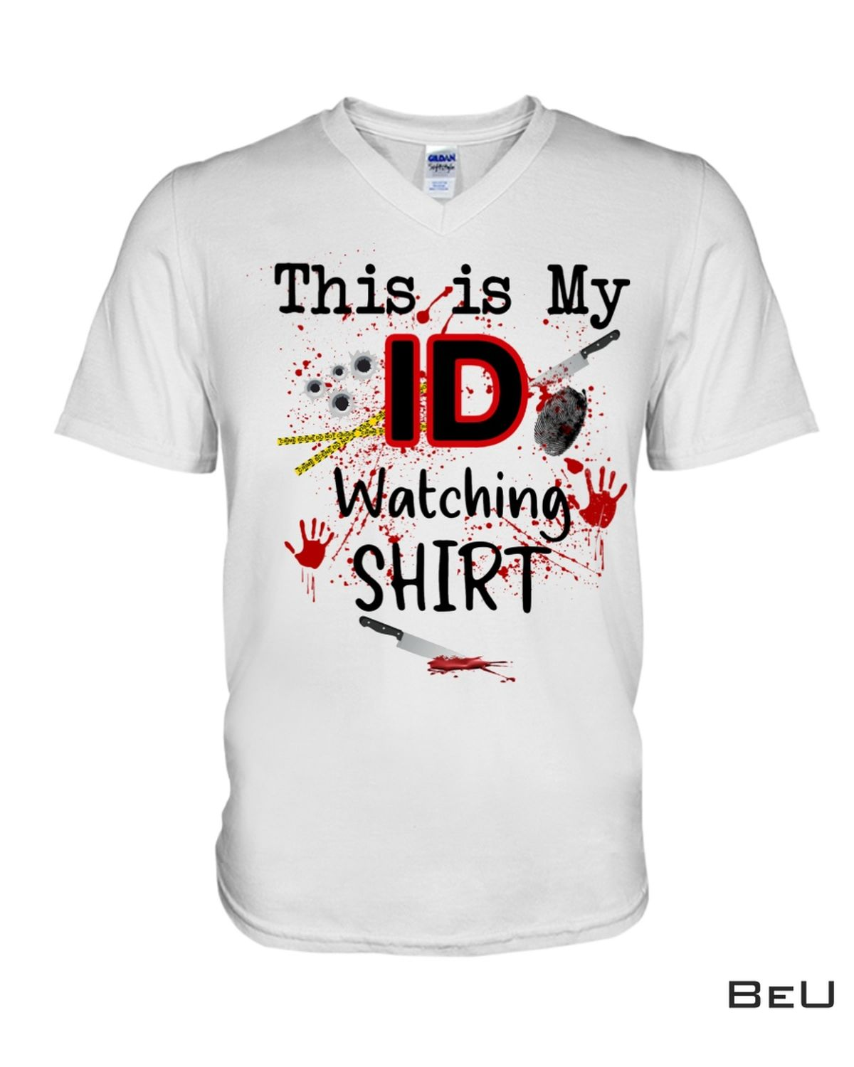 New This Is My Id Watching Shirt, hoodie, tank top