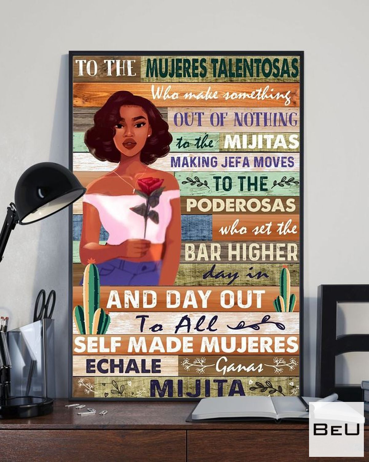Fantastic To The Mujeres Talentosas Poster
