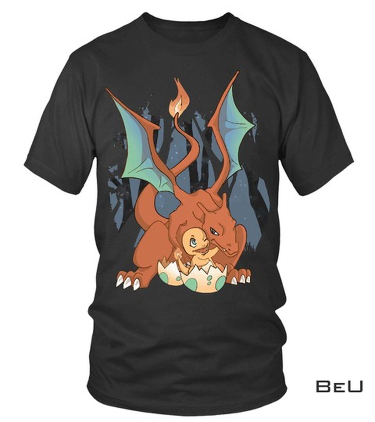 Pokemon Charizard Black Shirt, hoodie, tank top