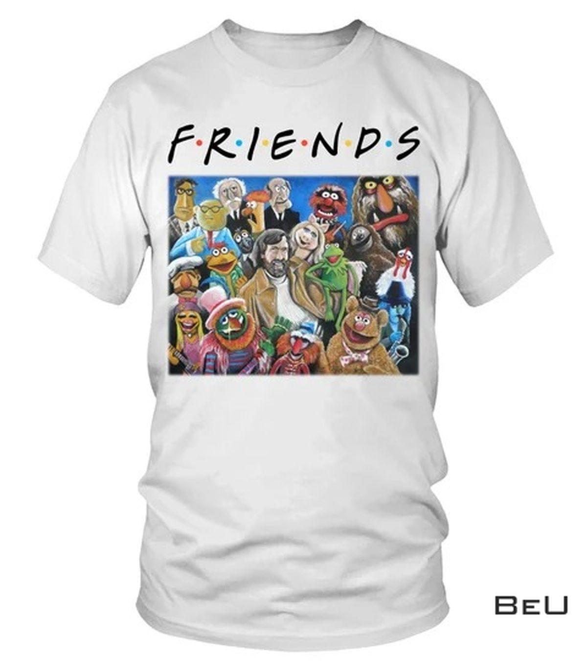 Friends Jim Henson Puppets Art Shirt, tank top
