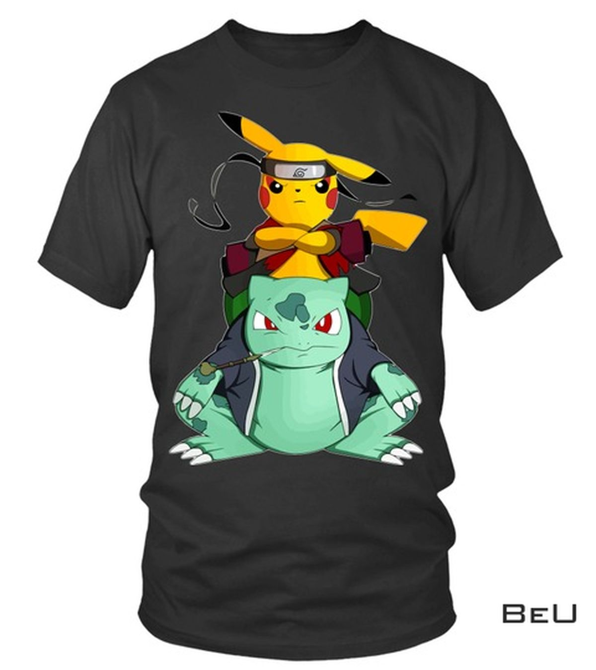 Pokemon Pikachu Sasuke Shirt