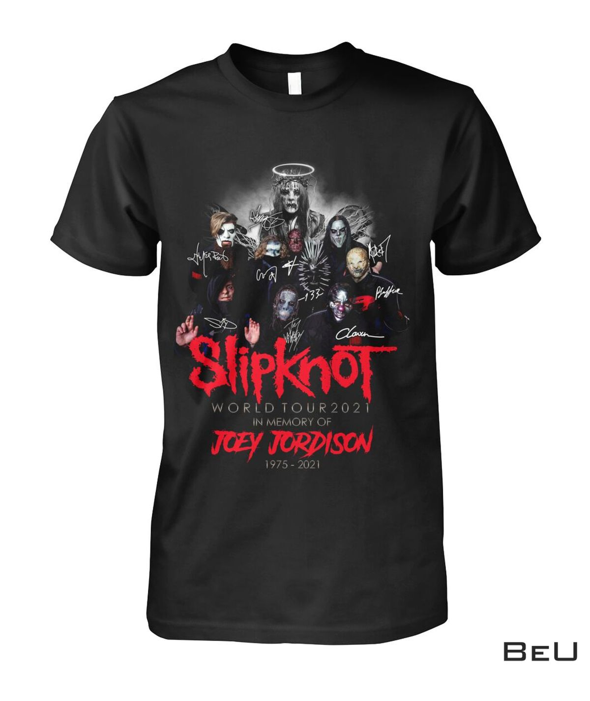 Slipknot Joey Jordison World Tour 2021 Shirt