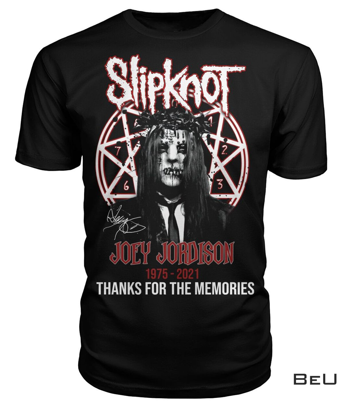 Slipknot Joey Jordison Thank You Shirt, hoodie